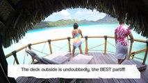 2014 Tour of our Bora Bora Pearl Beach Resort & Spa Premium Overwater Bungalow