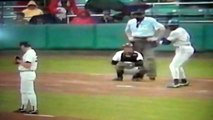 Worst Swing And Miss Ever Alfredo Griffin Strikeout Yankee Stadium