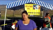 """8/24/13, Lake Isabella - """"Fix Your Pets"""" Mobile spay/neuter clinic, Kern County, California"""