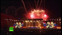 Fireworks display in Russian cities crowns #Victory70 celebrations