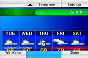 How to Use the Nintendo Wii : How to Change Settings on the Wii Forecast Channel