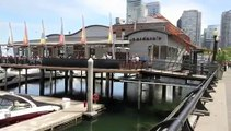 Coal Harbour, Seawall, Marina, Downtown, Vancouver, BC, Canada, Video Tour