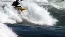 Freestyle Kayak Moves - Donkey Flip