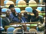 Bongo à l'ONU,Omar Bongo,Pr. Gabon