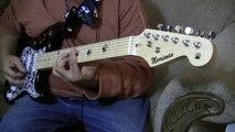 James Brown - Mind Power - Short Version Guitar Cover