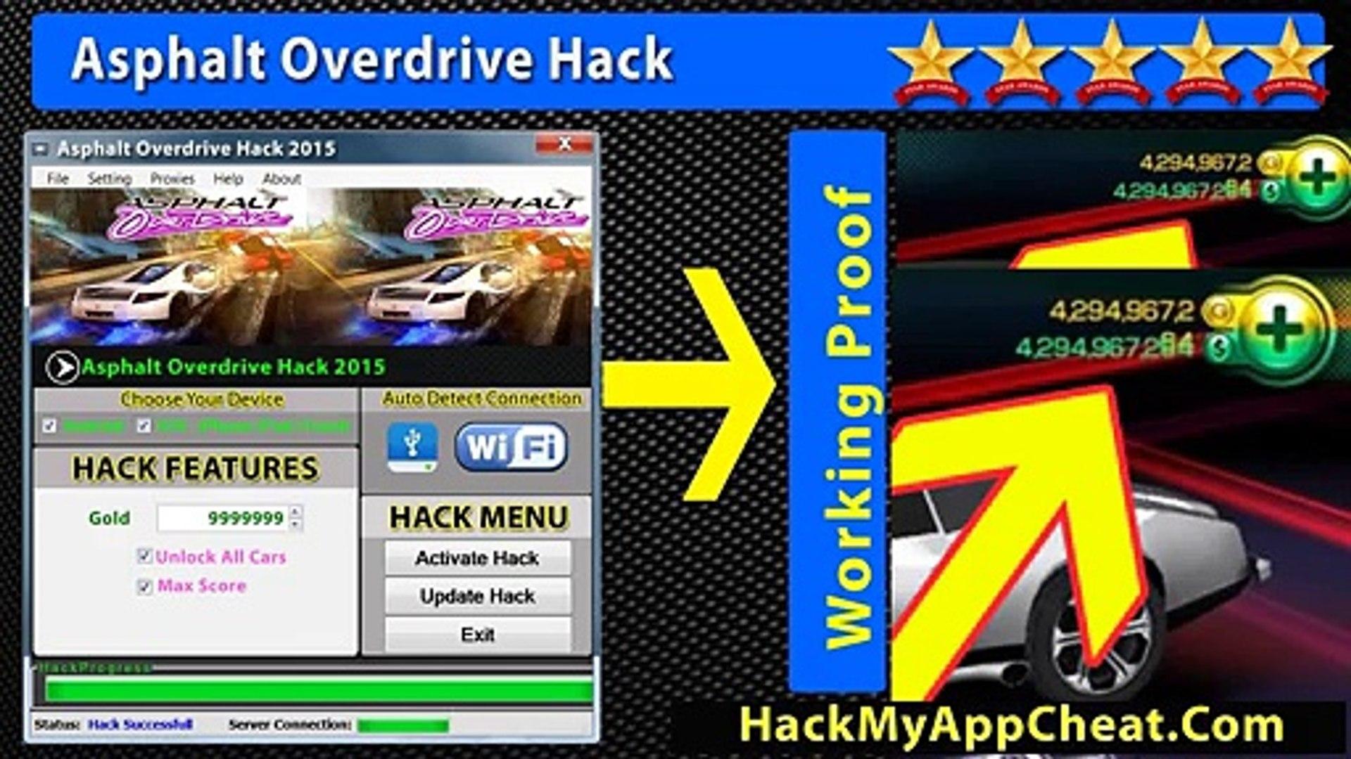 Asphalt Overdrive Cheat Score Gold and Unlock All Cars iPad Best Version  Asphalt Overdrive Triche Gratuit