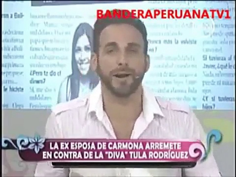 LA EX ESPOSA DE CARMONA ARREMETE CONTRA TULA (AMOR AMOR AMOR-10 DE ENERO- 2011)
