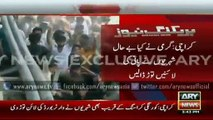 ARY News Headlines 22 June 2015 - Water Crisis  Residents of Karachi destroyed main water line