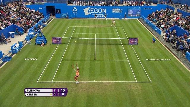 WTA Tour: Kerber remonta ante Pliskova y se lleva el AEGON Classic (6-7 6-3 7-6)
