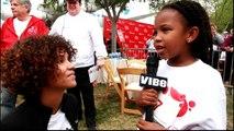 Harmony Bailey Talks With Halle Berry At Revlon Run Walk For Women