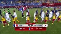 Coupe du Monde : France Corée du Sud 3-0 (21 juin 2015)