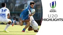 HIGHLIGHTS: Italy 20-19 Samoa in relegation battle at World Rugby U20s