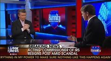 Bill Cunningham & Hannity Shouting Match With Dem Guest: IRS Was Actively Working To Re-Elect Obama