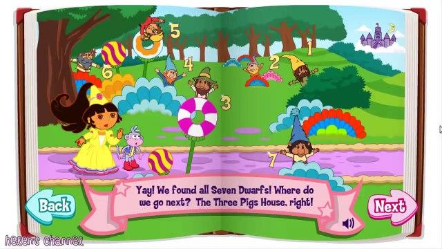 DORA THE EXPLORER - Dora's Fairytale Fiesta   New English Full Game (2014)