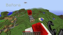 Minecraft: Ride Flying Machines without Falling Through! (No Boats) | Minecraft PC