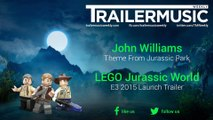 LEGO Jurassic World - E3 2015 Launch Trailer Music (John Williams - Theme From Jurassic Park)