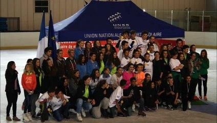 2ème Championnat de France Sports de Glace UNSS du 1er au 3 juin 2015 - Font Romeu -