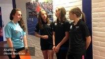Les Jeunes Reporters de THIANT interview de Jeunes Athlètes aux Championnats de France d'Athlétisme