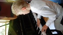 8 yr old Bradley Bartlett-Roche playing an original Jazz Composition.