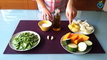 Crema de verduras - Dietas Online Cenur.es - Recetas Light - Cocina Sana