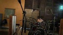 Scott drum tracking for new album