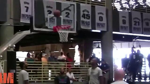 Myles Turner 2015 NBA Draft Workout NBA Draft Lottery 2015 Texas Basketball