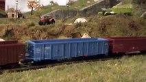 Vláčiky - modelová železnica H0, digitál, zvuk