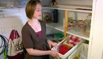 New Kitchen Moving & Storage Tips : New Kitchen Pantry Storage: Linens & Napkins