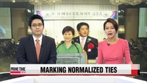 Leaders of Korea, Japan mark 50th anniversary of normalized two-way ties