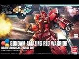 1/144 HGBF Gundam Amazing Red Warrior Review