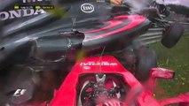 F1 : l'incroyable crash entre Alonso et Räikönnen - ZAPPING AUTO DU 22/06/2015