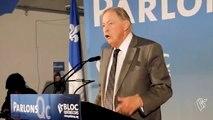 Jacques Parizeau appelle le Québec à voter pour le Bloc Québécois