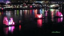 Christmas Lights & Fireworks - Darling Harbour Santa Fest Sydney