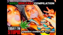 PEOPLE HIGH ON WEED EPIC FAILS&WINS COMPILATION - Funniest stoners of all times || TIS ||