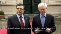 EU President Van Rompuy says EU to help Greece