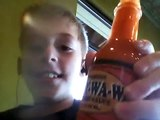 Hot sauce. Really hot hot sauce