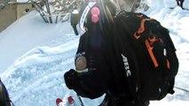 Extreme Ski Freeride - Maxi Pow Backflip Mickael Bimboes Courchevel
