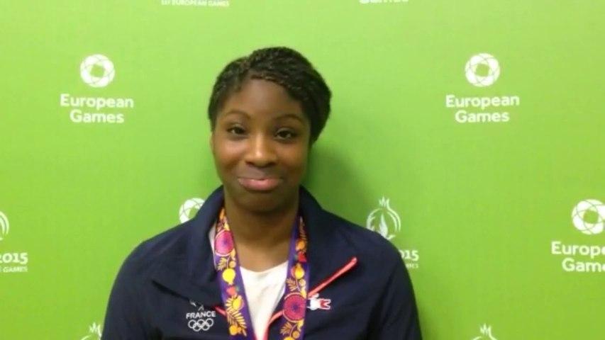 Céline Condé - médaille de bronze sambo +68kg