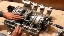 Kapanadze 3KW selfrunning free energy generator unit - video