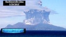 Breaking News=UFO Sightings Enhanced Footage UFO Volcano Japan 5 29 2015