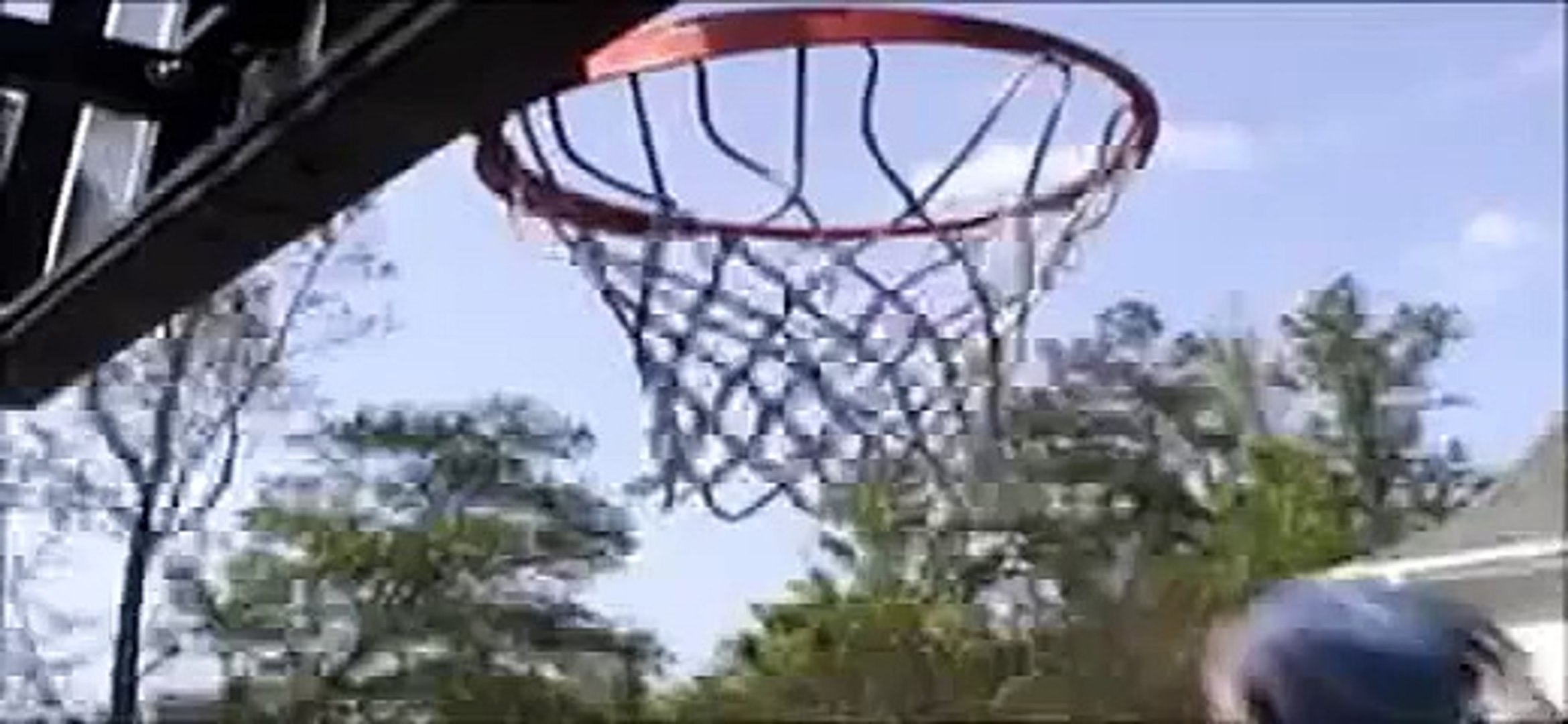 Old School bball video (my brother and I) funny stuff