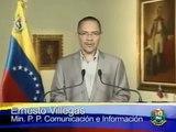Ernesto Villegas Presidente Hugo Chávez está asimilando el tratamiento médico en Cuba