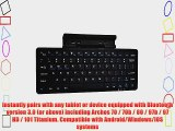 Cooper Cases(TM) K2000 Archos 70 / 70b / 80 / 97b / 97 HD / 101 Titanium Bluetooth Keyboard