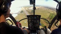Schweizer Helicopter Auto Rotation