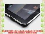 Yoobao V4 GENUINE Leather Magic case for Apple 16 32 64 GB iPad  LCD Protector-Black