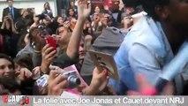 La folie avec Joe Jonas et Cauet devant NRJ - C'Cauet sur NRJ