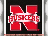 Coveroo iPad (2nd-4th Generation) Black Folio Case with University of Nebraska Red N Huskers