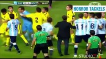 Football Furious ⚫ Horror Paining Tackles ⚫ || 2014 - 15 || HD || FEEL THE PAIN ||