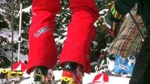 Mikaela Shiffrin Training at Loveland Ski Area