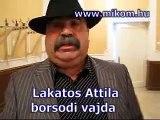 Cigány-magyar polgárháború lesz! - Lakatos Attila cigányvajda